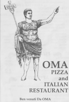 Oma's Pizza and Italian Restaurant, Bradenton Beach, Anna Maria Island
